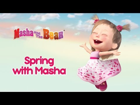 Cartoon Masha and The Bear Spring