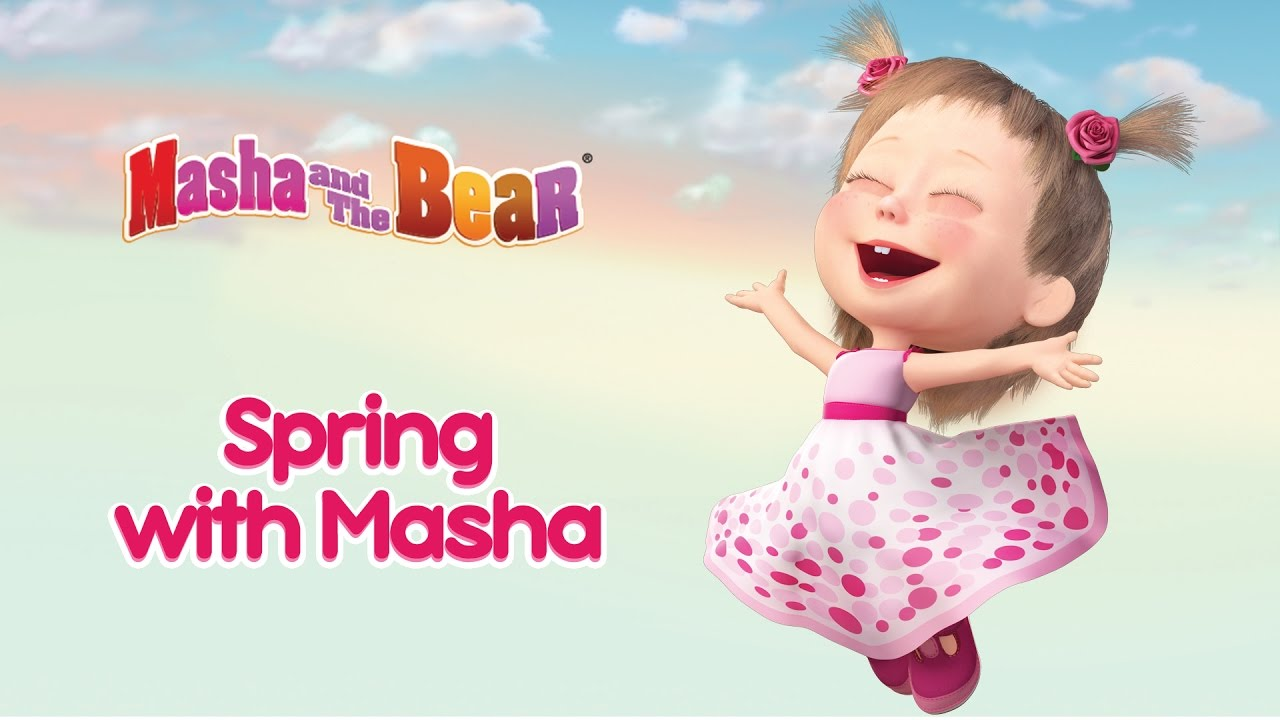 Ver Masha and The Bear – 🌿 Spring with Masha! 🌸  Best spring cartoon compilation for kids! en Español