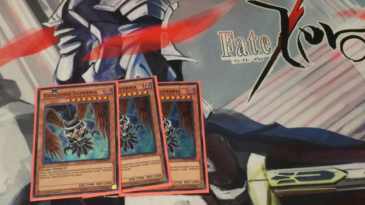 Yugioh Darklord Deck Profile Youtube - Imagez co