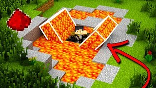 MINECRAFT: How To Build A Hidden Redstone Bunker [Secret Base Tutorial]