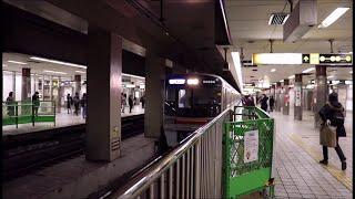 大阪メトロ堺筋線 堺筋本町駅に天下茶屋行き66系リニューアル車が到着~発車まで