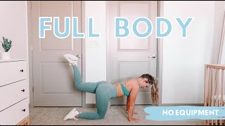 12 Minute Full Body Workout | Apartment Friendly, No Equipment, Real Time