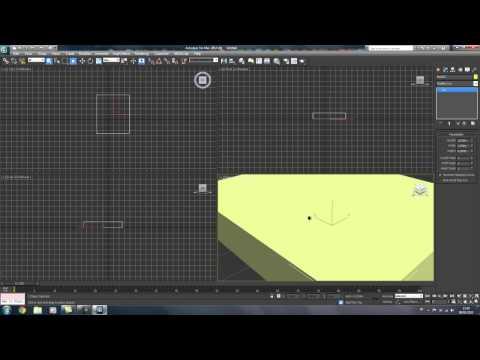 Tutoriel débutant 3Ds Max [01]