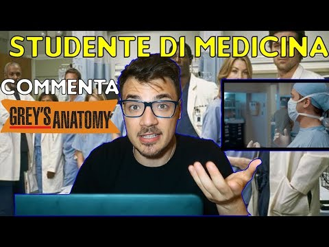 QUASI MEDICO COMMENTA GREY'S ANATOMY