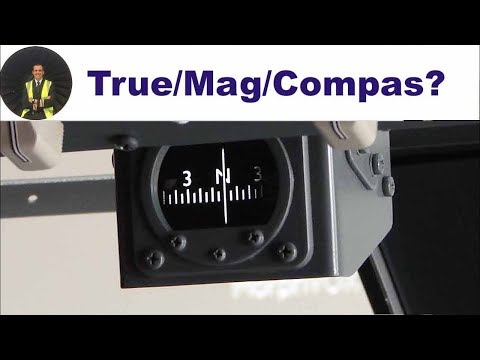 ATPL Navigation Theory: True/Magnetic/Compass Heading and Course ✈