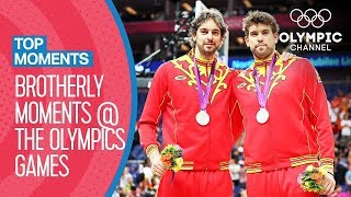 The Best Brotherly Moments at the Olympics Games | Top Moments