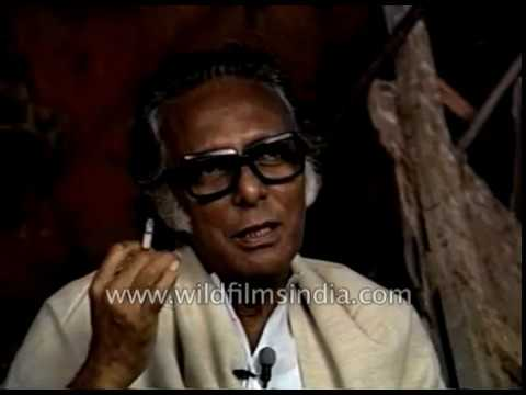 Film director Mrinal Sen talks about Mithun Chakraborty