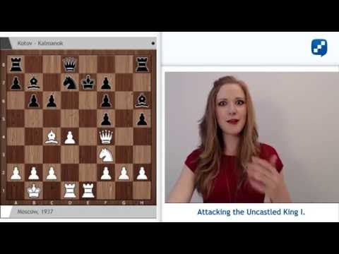 Miss Strategy's Middlegame Show: Attacking the Uncastled King - June 29, 2016