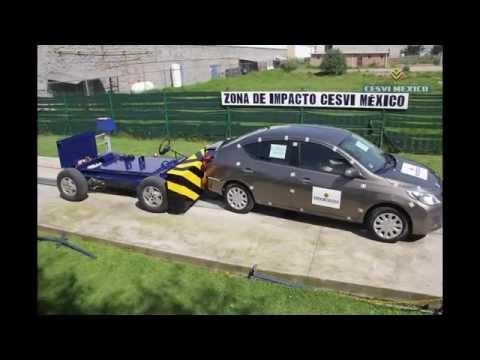 Low-Speed Crash Test 2012 Nissan Versa