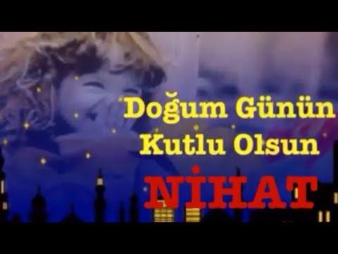 NİHAT İyi ki Doğdun :)  3. VERSİYON Komik Doğum günü Mesajı ,DOĞUMGÜNÜ VİDEOSU Made in Turkey :) 🎂