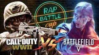 Rap Battle Cup - Battlefield 5 vs. Call of Duty: WW2 (World War 2)