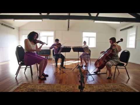 The Dissonance Quartet perform Anthony Watson's String Quartet no. 3