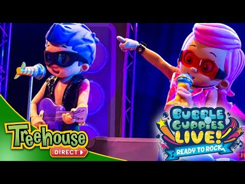 Bubble Guppies Live! Ready to Rock | We Totally Rock | Songs for Kids