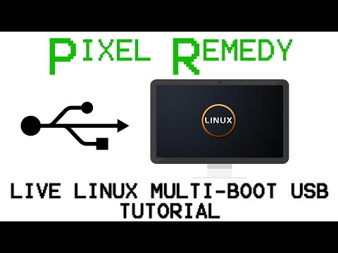 How to manually make a Live Linux multi-boot USB
