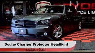 Spyder Auto Installation: 2006-10 Dodge Charger Halo Projector Headlights