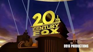 20th Century Fox logo 1994 Blender Remake
