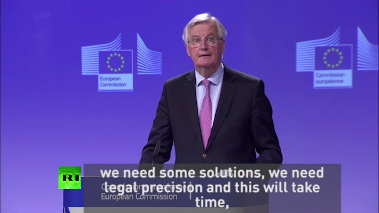 """""""#Brexit won't be quick or painless"""" - EU chief negotiator"""