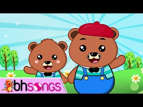 Teddy Bear Song | Nursery Rhymes | Song For Kids  [ Lyrics Music 4K ]