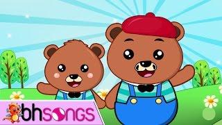 Teddy Bear Song   Nursery Rhymes   Song For Kids  [ Lyrics Music 4K ]