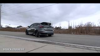 ford focus st remus exhaust test 2017
