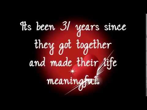 Happy 31st Wedding Anniversary Nay Tay