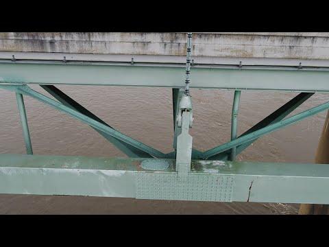 I-40 bridge repairs over Mississippi River