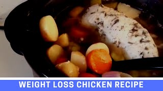 Slow Cooker Recipe for Weight Loss: Chicken Hot Pot