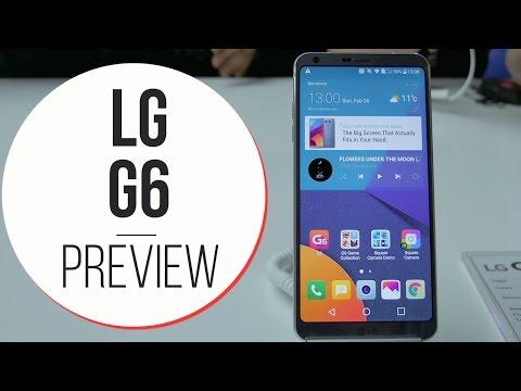 Anteprima LG G6 - MWC 2017