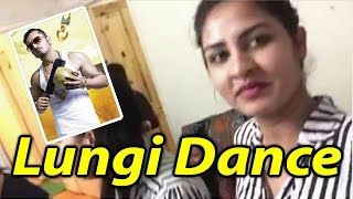 Lungi dance by Bangladeshi beautiful hot girl in UK