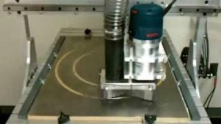 Routing Steel On K2 Cnc Machine #2