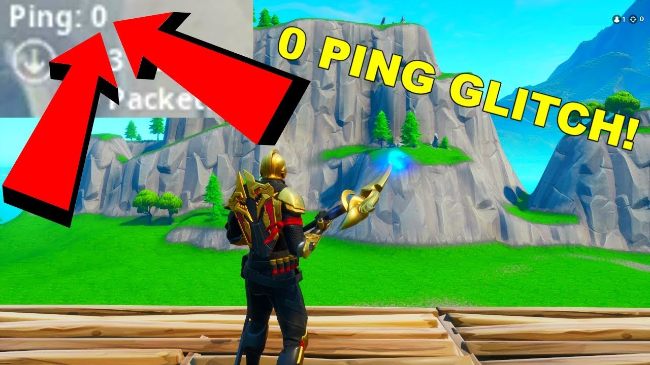 *0 PING GLITCH* How to Get 0 PING in Fortnite Season 10! (PS4/XBOX/PC)