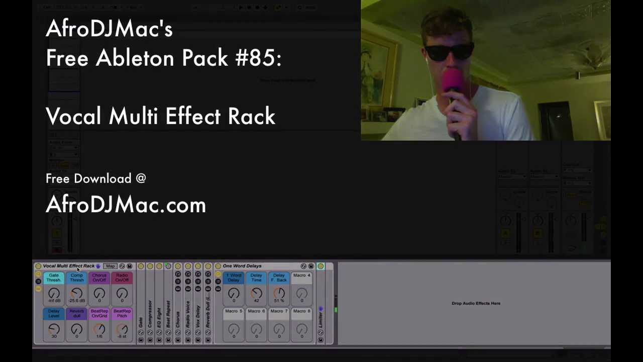 Free Ableton Live Pack #85: Vocal Multi FX — Brian Funk