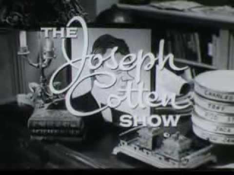 to The Joseph Cotten  1950s
