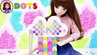 Make a Rainbow Jewellery Box - Lego Dots DIY Craft