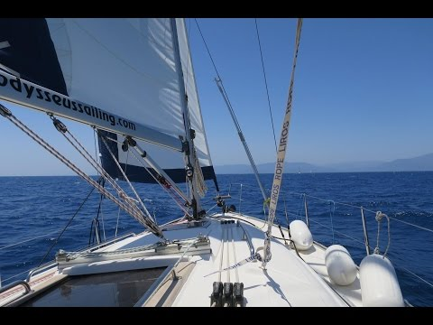 Sailing in the Ionian Sea (Greece - June 2016)