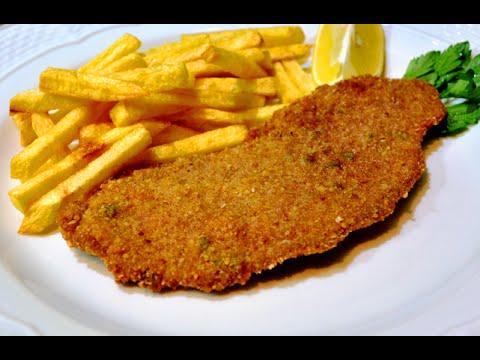Milanesas Argentina Facil Carne Frita Rebozada Youtube