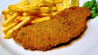 Milanesas Argentina FÁCIL carne frita rebozada
