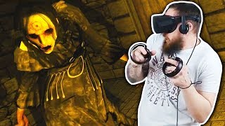 Getting Attacked By DEMONS In VIRTUAL REALITY! DreadHalls | (Oculus Rift VR + Touch Gameplay)