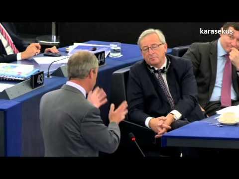 Nigel Farage on election process of Jean-Claude Juncker