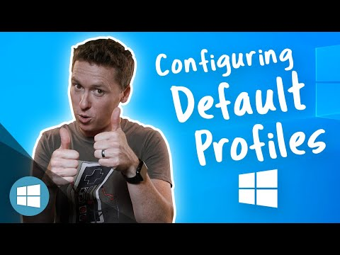 How To: Customize Default Profiles