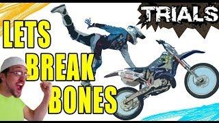 Lets Break Bones in Trials: Skylander Dad + Dirt Bike Fusion (Evolution Xbox 360 Gameplay)
