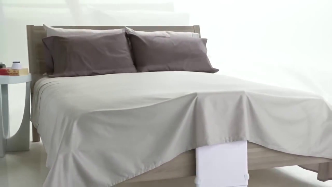 Bed Fan With Wireless Remote Youtube