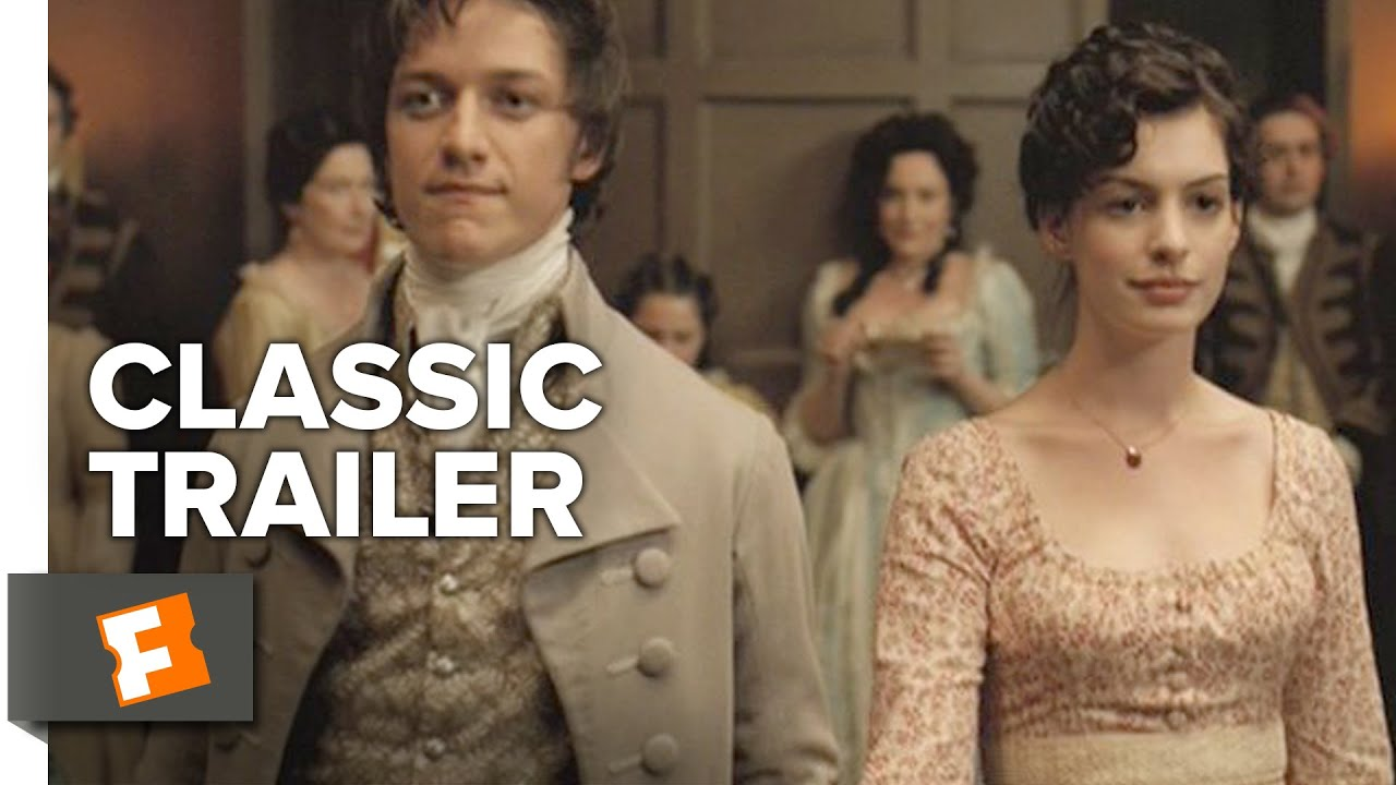 Becoming Jane 2007 Official Trailer Anne Hathaway James Mcavoy