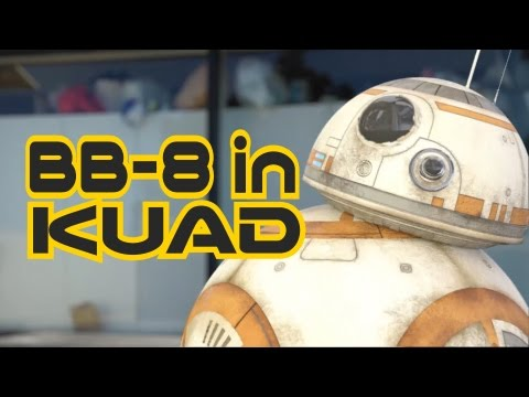 BB-8 in Kyoto University of Art and Design - Star Wars: The Force Awakens Fan Film