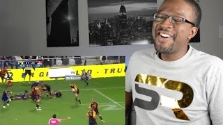 Most Entertaining 3 Minutes of Rugby Ever  - Highlanders vs Chiefs REACTION