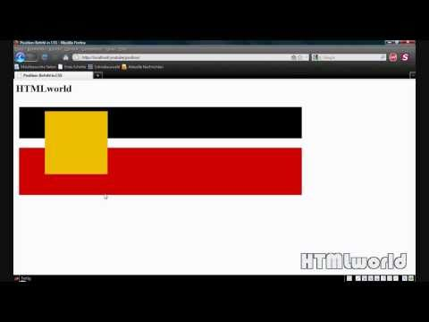 CSS Tutorial: Der Position-Befehl In CSS | Deutsch