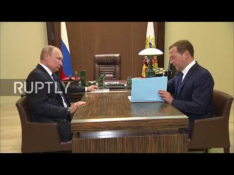 Russia: Medvedev presents new cabinet candidates to Putin