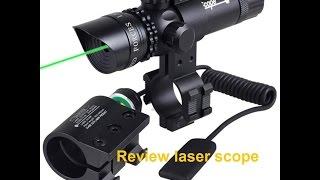 Mira laser /Red Dot para carabina de pressao ou balestra