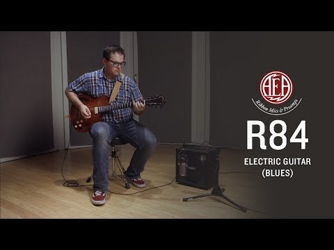 AEA R84 - Electric Guitar (blues) - Listening Library