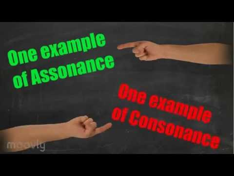 What's the Difference: Assonance vs. Consonance